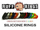 Mens Silicone Wedding Rings RUFF RINGS compare to qalo qualo at 1/3rd the price!