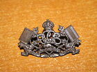WW2 Canadian Collar Badge Royal Canadian Corps of Signals OFFICER