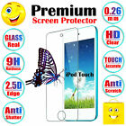 Premium Anti-Shatter Tempered Glass Screen Protector Shield For iPod Touch 6 5 4