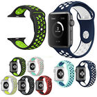 Replacement Silicone Wrist  Band Strap For Apple Watch 42mm Series 2 /1 Nike+