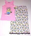 Minion Despicable ME Women's Pajama Top & Capri Pants Size Medium or NWT