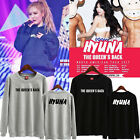 4minute Kim HyunA THE QUEEN'S BACK Sweater Unisex Pullover sweatershirt New
