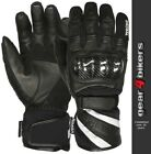 Weise Oslo Textile Mesh Leather Short Waterproof Summer Motorcycle Glove Gloves