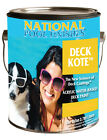 National Paint 1 Gallon Deck Kote Acrylic Swimming Pool Paint-(Various Colors)