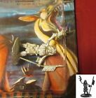 Ral Partha DS-040 Shadowrun Female Elf Amerindian with Spear and Gun Tribal Hero