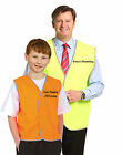 CHILDRENS EMBROIDED SAFETY VEST