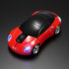 Wireless 2.4G 3D Car Shape Optical Mouse Mice+USB Receiver For PC Laptop NEW