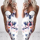 Sexy Lady Bandage Bodycon Floral Summer Casual Evening Party Cocktail Mini Dress
