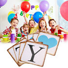 Fashion Retro Baby Birthday Party Decor Letter Flag Bunting Banners UK
