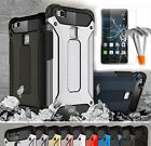 HOT Shockproof Rugged Armor Protective Case & Tempered Glass For Huawei P9 Lite