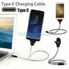 Flexible Lazy Bracket Stand UP Type C Charger Charging Sync Data Cable Holder