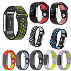 New Niike Style Soft Silicone Band Strap Wrist Bracelet f Fitbit Charge 2 / 2 HR