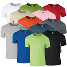 Mens T-Shirts 5 Pack Softstyle Gildan Plain Blank Tees Mix Colour Packs
