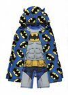 DC COMICS BATMAN:ULTIMATE SURFSUIT+PONCHO SET,3/4,4/5YR,NEW WITH TAGS
