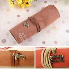 Beauty Wrap Case Stationery Up Roll Pen Retro Makeup Bag Stationery Bag Canvas