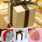 200 pcs 3x3x3 inch Paper GIFT BOXES Wedding FAVORS Easy Packaging Wholesale