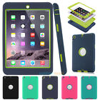 Shockproof Armor Military Heavy Duty Case Cover Kids For Apple Ipad Mini 1 2 3