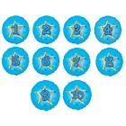 """18"""" Blue Stars Holographic Foil Balloon - Ages 1-10 {Anagram} (Birthday/Helium)"""