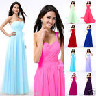 New Bridesmaid Dresses Evening Party Formal Prom Gown UKSize: 4-6-10-12-14-16-18
