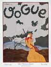 Vogue October 1924 Vintage Artwork Poster Fashion Cover - 4 sizes available
