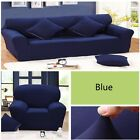 1/2/3/4 Seater Sofa Slipcover Stretch Elastic Protector Couch Cover Washable