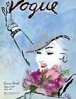 Vogue May 1935 Vintage Artwork Poster Fashion Style Cover - 4 sizes available