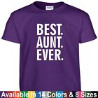 funny mothers day gifts - Best AUNT Ever Funny Mothers Day Birthday Christmas Mom Auntie Gift Tee T Shirt