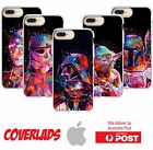 iPhone Silicone Cover Case Star Wars Jedi Dark Side Rainbow Paint - Coverlads $14.95 AUD
