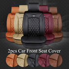 Luxury Breathable PU Leather Car Seat Cover Cushions For Front Seat 3D Surround