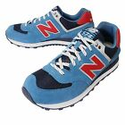 New Balance ML574SOG D Blue Navy Red Mens Running Shoes Sneakers ML574SOGD