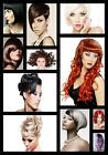 Hairdressers hair salon advertising collage customised poster A2, A1, A0 sizes