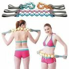 Easy To Use Rope Massager Toning Circulation Back Neck Rolling Strap