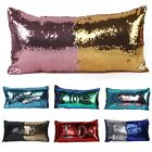 New Pillowcase Sequins Pillow Case Bedroom Car Cushion Cover Protective Bedding