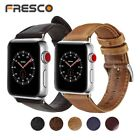 100% Genuine Leather Band Strap for Apple Watch Series 1/2/3/4 38/42 40/44 mm image