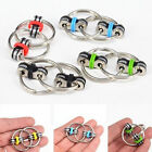 Decompression Chain Key Ring Hand Spinner Key Chain Buckle Fingertip Gyro mmj
