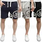 Crosshatch Mens Designer Branded Fabric Summer Shorts, Available in 3 Colours