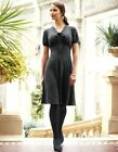 Bravissimo LADIES/WOMENS KNITTED DRESS IN CHARCOAL SIZE 14C/RC (92)