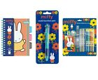 Miffy CARTOLERIA / SET (MATITA / GOMMA / Righello/COLORARE/REGALO DI NATALE /