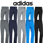 NEW 2017 ADIDAS GOLF TROUSERS  3 STRIPE PERFORMANCE PANT