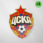 CSKA Moscow Russia Vinyl Sticker Decal Football Soccer ЦСКА Москва наклейка