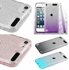 iPod Touch 5th & 6th Gen - Hard TPU Rubber Sparkle Shiny Bling Glitter Skin Case