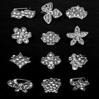 12PX Small Brooch Collar Clip Neck Tips Collar Pin Gothic Punk varied Style