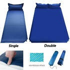 camping sleep mat - Outdoor Camping Self-Inflating Air Mat Mattress Pad Pillow Hiking Sleeping Bed