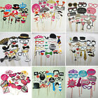 1 Set Photo Booth Photobooth Props Moustache On A Stick Party Wedding Prop Masks