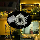 50/100/200 LED String Fairy Lights Battery Operated Xmas Party Room Decor Indoor