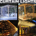 curtain light - LED Curtain String Fairy Light Christmas Wedding Home Garden Party Garland Decor