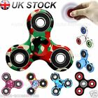 Camouflage Fidget Spinner Finger Hand Focus Spin Steel EDC Bearing Stress Toy