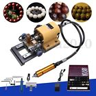 Pearl Drilling Holing Machine Driller Bead Jewelry Punch Tools Full Set 110/220V