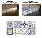 Mosaic Pattern Stickers Transfers For 150mm & 6 Inch Tiles Video Instruction C26
