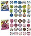 Baby Milestone It's a Boy or Girl Photo Baby Stickers NEW Family